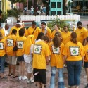 Praying before outreach