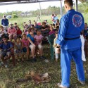 Using gifts on field-Martial Arts Champ